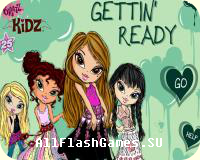 Flash игра Bratz Kidz - Getting Ready
