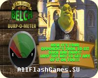 Flash игра Shrek - the batle of the belch
