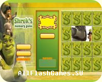 Shreks - memory game