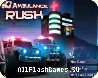 Flash игра Ambulance Rush