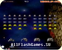 Flash игра Space invaders