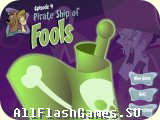 Flash игра Скуби-Ду: Pirate Ship of Fools